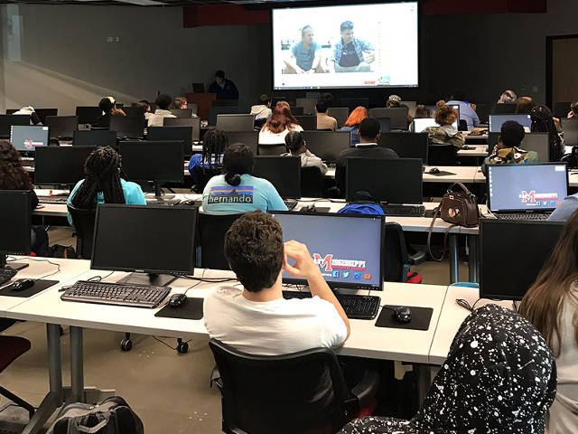 Coral Live 2018; students in the Golden Triangle, Encounter Edu