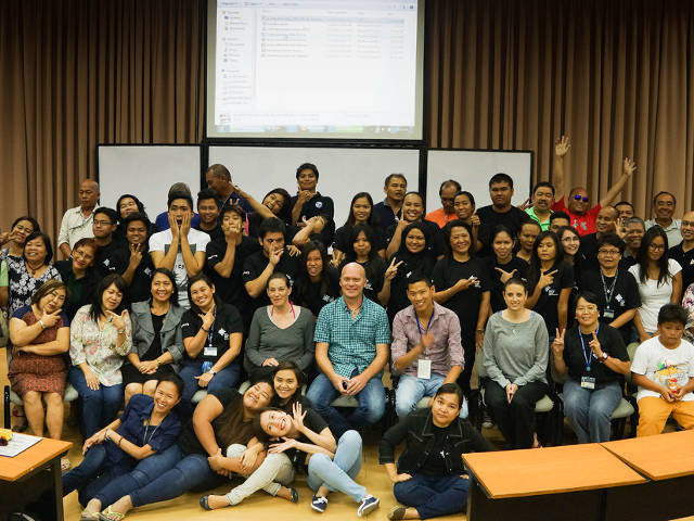 closing seminar at Xavier University, The Philippines (Mike McCue)